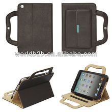 Carrying Bag Handbag Leather Stand Buckle Case for iPad Mini