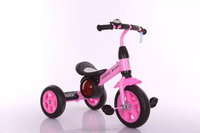 Small simple kids ride on car with subwoofer tricycle for children/kids three wheel bike