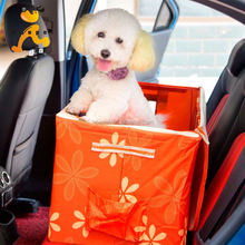 Car carrier bed and seat cover for pet dog