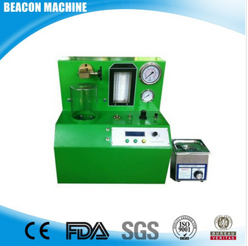 The popular PQ1000 Diesel oil fuel injector test bench common rail injector tester