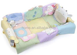 Baby multi functional playmat play mattress baby mattress with toy small bed
