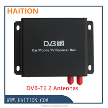 car dvb t2 digital tv receiver mobile digital dvb-t2 tv tuner for russia / thailand/colombia/