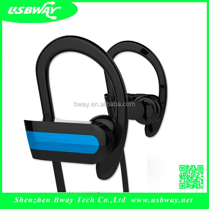 V4.0 Ear Hanging Ear Buds Earphone Car Driver Handsfree bluetooth headset earphone