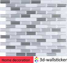 Alibaba hot products self adhesive mosaic design wallpaper 3d tv background vinyl wall paper