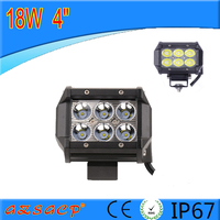 High quatity 4d 18w led light bar 2016 hot selling 4inch 18w car led driving light bar