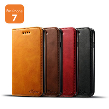 Wholesale Online PU Leather phone case store flip cover for iPhone cases 7g 5.5 inch Protective Card Holder Wallet Cases