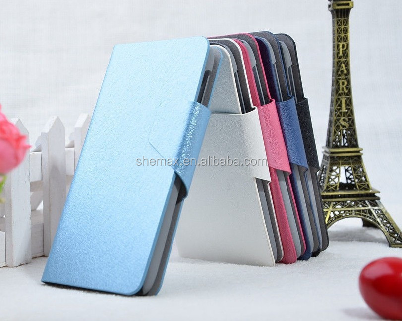 Mobile Phones Leather Flip Case for Lenovo S820