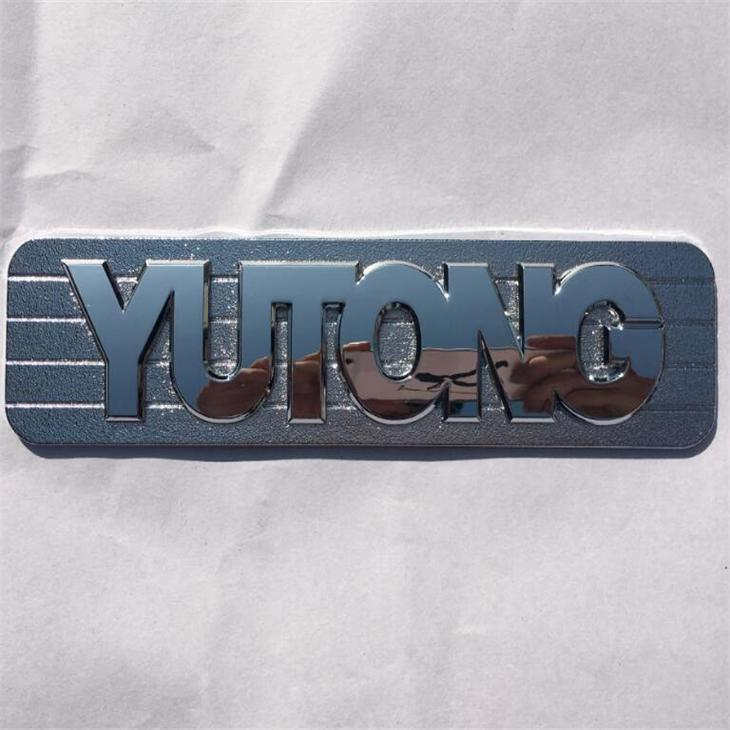 Top Quality OEM Items 3M Glue Type Double Effect Style Custom 3D Plastic Chrome Emblem