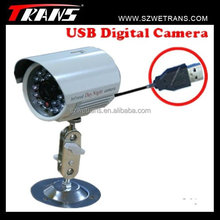 WETRANS Outdoor waterproof CCTV USB camera with night vision
