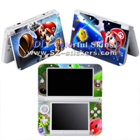Vinyl Skin Sticker for Nintendo 3ds xl for dsi xl for 3ds with Funny Mario Designs at Factory Price