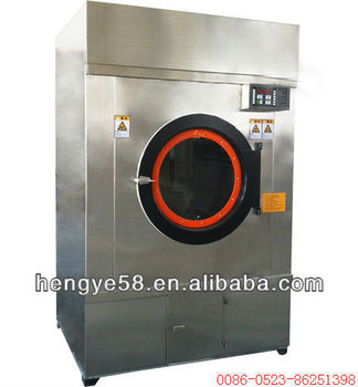 Full stainless steel industrial tumble dryer machine