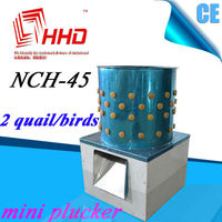 Stainless steel Slaughtering machine small poultry duck chicken plucker/chicken feather removal machine