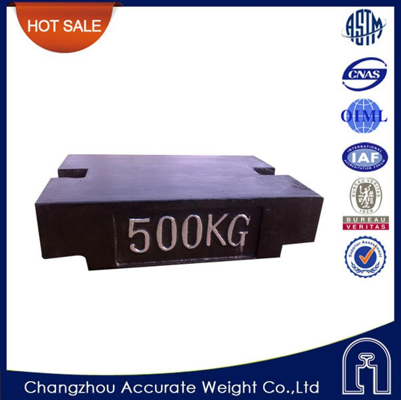 OIML 5kg, 20kg, 500kg, 1000kg poise weight, gray iron counter weights, test weight for crane