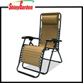 reclining folding relax garden furniture metal chair