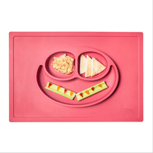 High Quality Non-toxic Silicone Baby Placemat Plate Silicone Placemat Plate Silicone Placemat for <strong>Kids</strong>