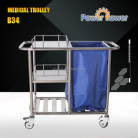 Stainless Steel Medical Trolley Hospital Trolley