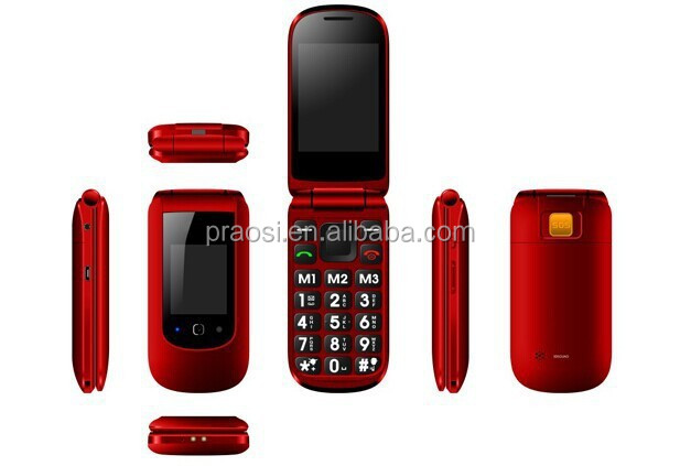hot sale GSM Senior SOS cheap seniors 3g mini flip phone