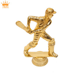 Wholesale sports trophy cup metal parts for championship baseball trophies