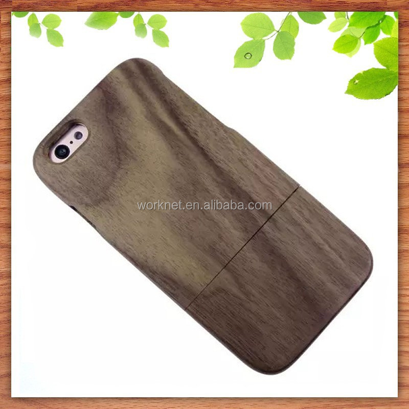 2015 hot sale 100% full wood moblile phone cover for iphone 6 /6 plus