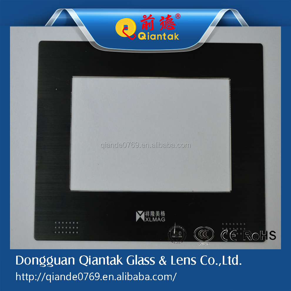 High <strong>quality</strong> CNC machining aluminum front panel/composite panel