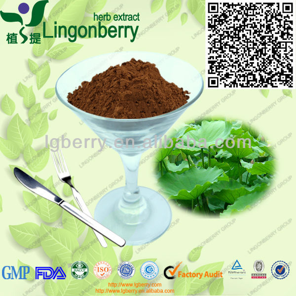manufacture/High quality Lotus leaf extract