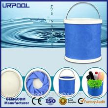 car use bucket fabric water bucket easy carry foldable bucket