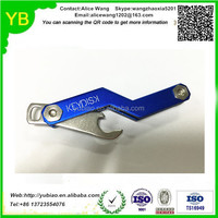 Custom aluminum Portable Compact Key Ring keyholder Organizer in China