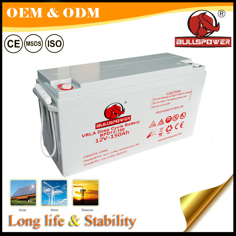 deep cycle ups battery charger 12v 150ah lead acid batteries