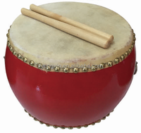 2016 New Product High Quality Orff Percussion,Musical Instruments Mini Wood Chinese Traditional Drum