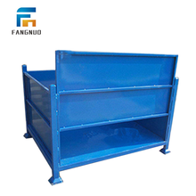 New arrive warehouse storage folding stainless steel pallet boxes
