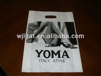 custom shopping bag / cut out pouch
