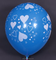 Printed Rubber Decorative Balloons