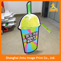 Promotion Cardboard Display Stand/Die cut foam board stand (JTAMY-2015121805)