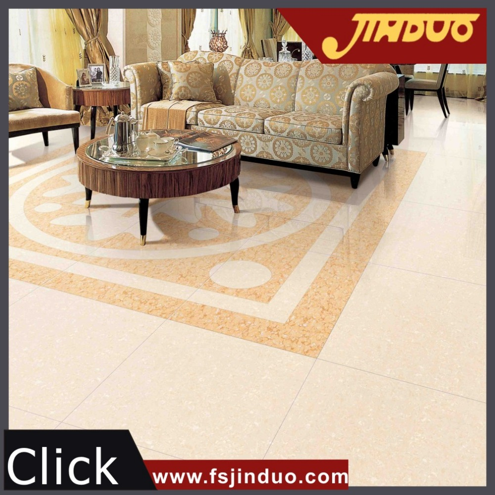 China cork wholesales yellow polished new model flooring tiles