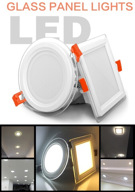 home automation salt lamp 6W/12W/18W/24W crystal led panel light trade assurance supplier