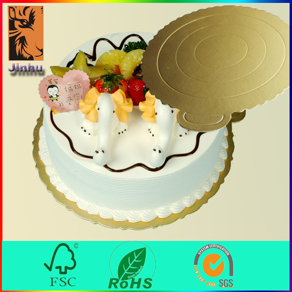 Wholesales foil paper cake boards