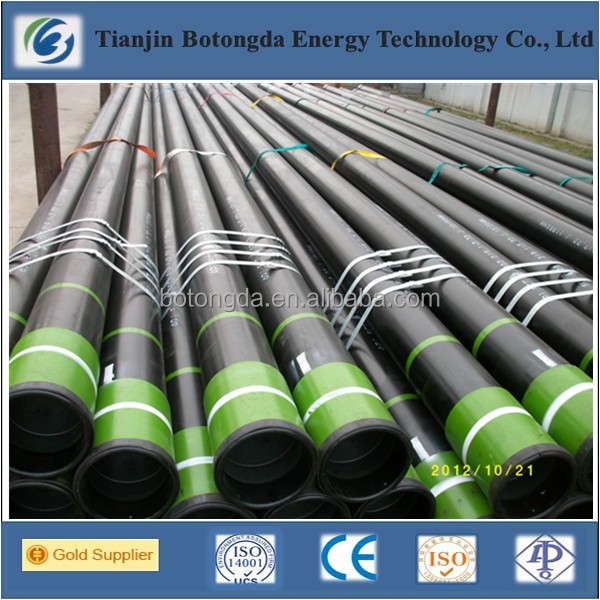 Botongda Brand Erw welded/seamless 7 inch casing pipe