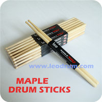 Cheap Popular Maple 5A Drum Sticks