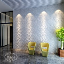 Wholesale Various High Quality Wall Paper looks Bamboo Fiber Wall Panel