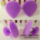 2017 high quality silicone deep cleaning facial silicone brush/electric facial cleansing