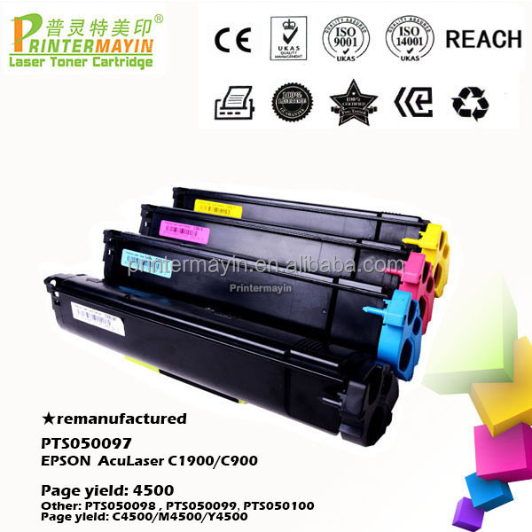 Wholesale Market ColorToner Cartridge Compatible FOR EPSON AcuLaser C1900/C900 (PTS050097)
