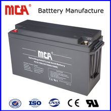 dry lead acid battery 12v 150ah with price