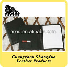A4 leather conference folder presentation folder