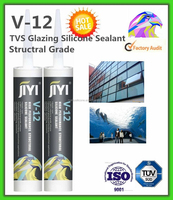 Waterproof silicone sealant/acetoxy cure/good adhesion to glass
