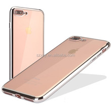 new products 2017 electroplated tpu amazon mobile phone case for iphone 7 7plus