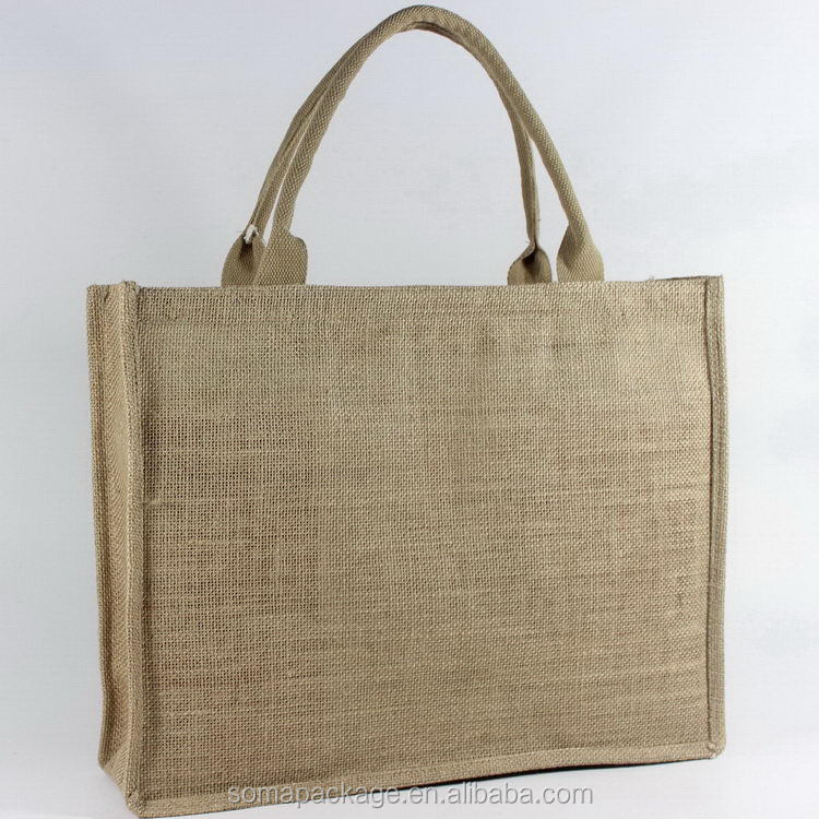 Good quality new design good quality gift jute bags wedding