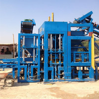 QT10-15 Full Automatic Cement Brick Making Machinery Block Production Line
