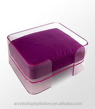 New style hot sale lucite acrylic pet dog bed/pet sleeping house