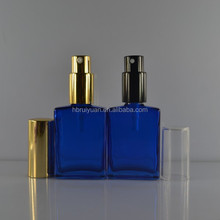 Stock new items 1oz blue miniature perfume bottles sale