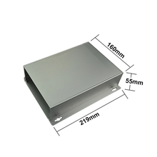DIY split type wall mounting pcb transducer aluminum enclosure electronical components protector aluminum box